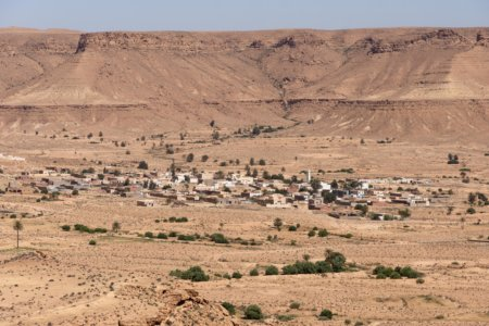 Nouvelle ville de Chenini, Tataouine, Tunisie