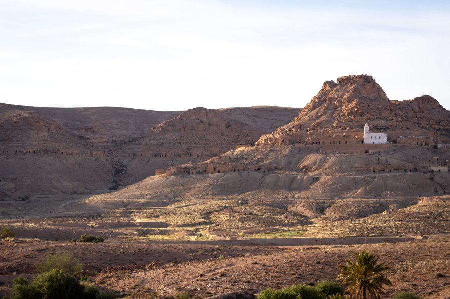 Village berbère de Douiret, Tunisie