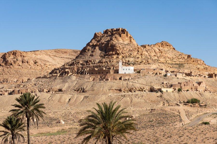 Village berbère de Douiret en Tunisie