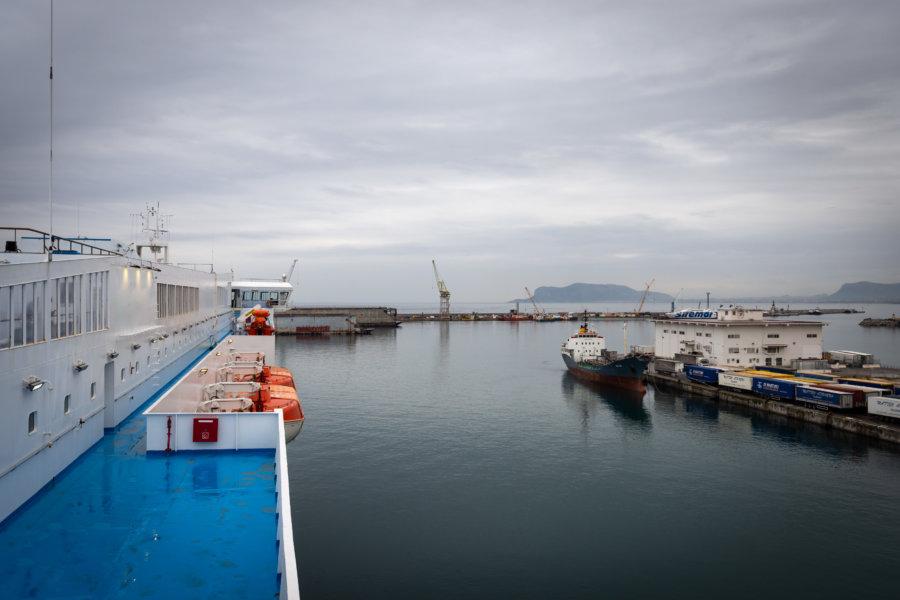 Ferry de Palerme à Tunis