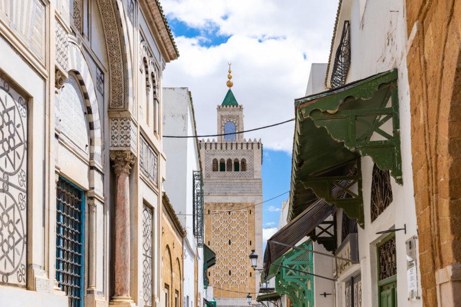 Médina de Tunis et mosquée Zitouna