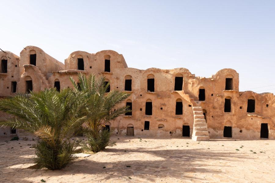 Ghorfas du Ksar Ouled Soltane, Tunisie