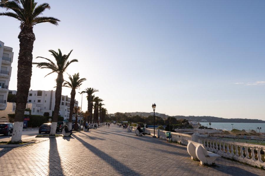 Ville de La Marsa, Tunisie