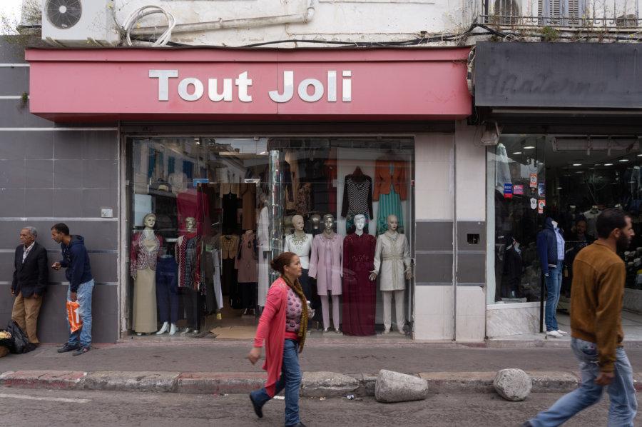 Magasin tout joli à Tunis
