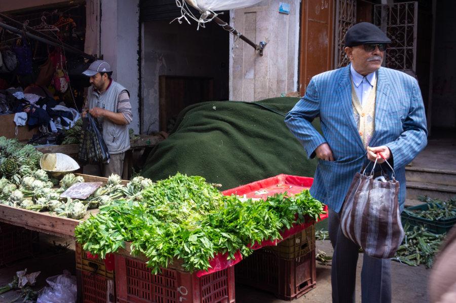 Marché à Tunis