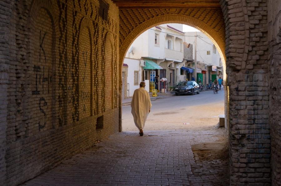 Médina de Tozeur en Tunisie