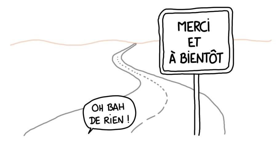 Dessin : autoroute gratuite dans le sud de la Tunisie
