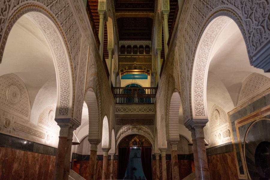 Intérieur du Palais du Baron, Sidi Bou Saïd