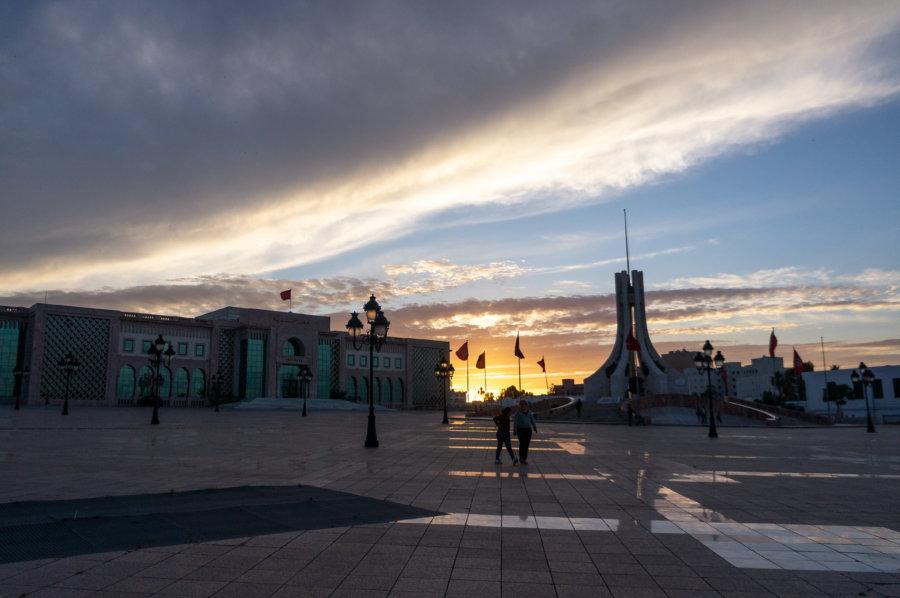 Place de la Kasbah à Tunis
