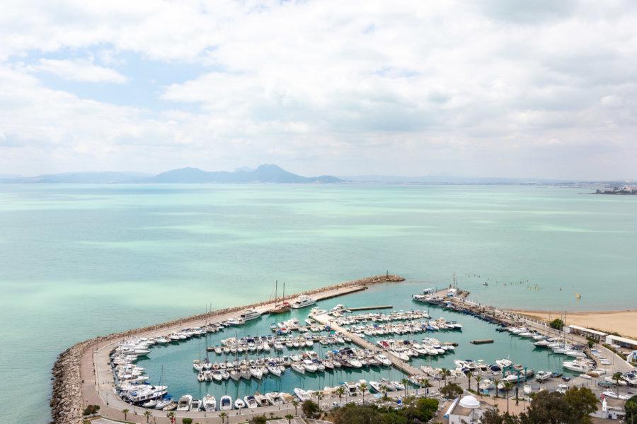 Port de Sidi Bou Saïd,Tunisie