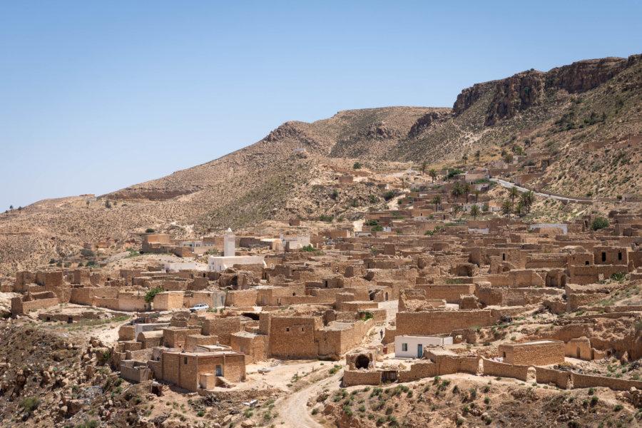 Village de Toujane, sud tunisien