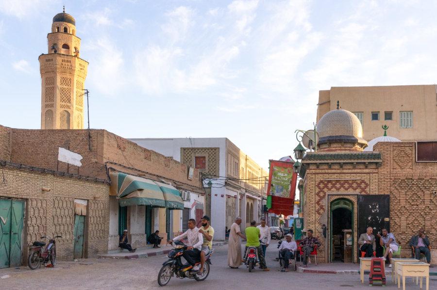 Ville de Tozeur en Tunisie