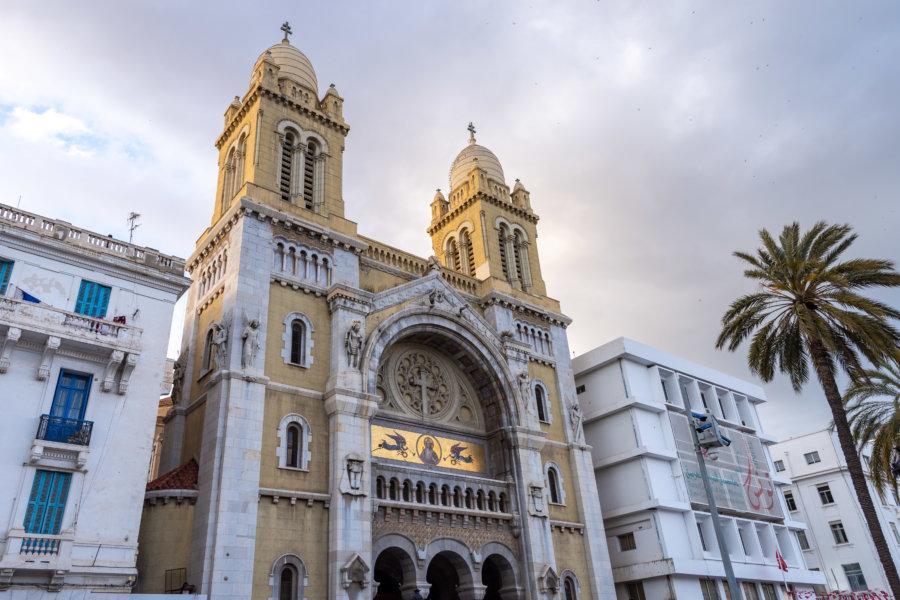 Cathédrale Saint-Vincent de Paul à Tunis