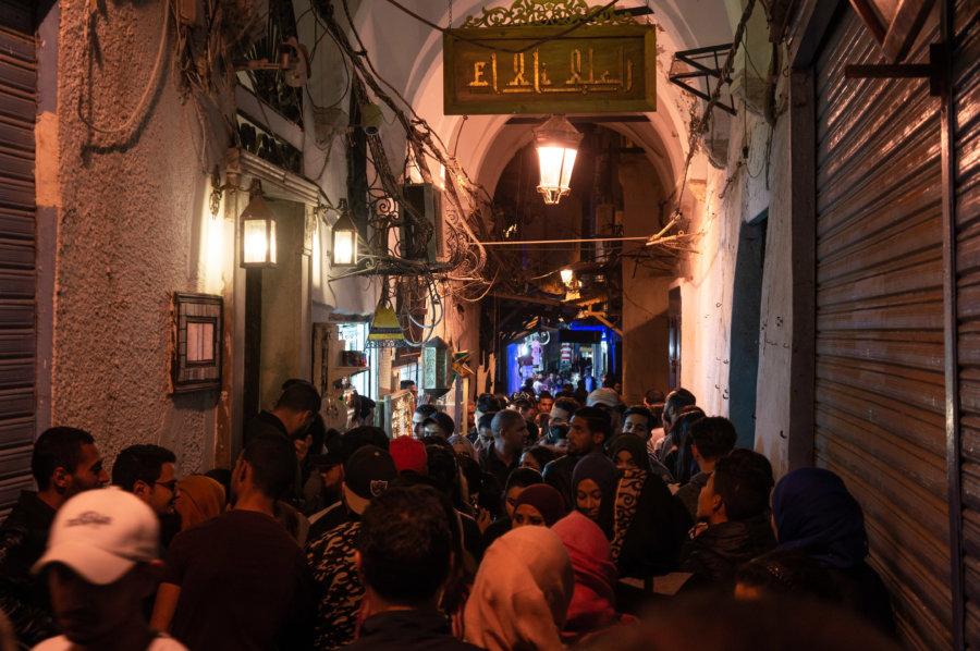 Médina de Tunis un soir de Ramadan