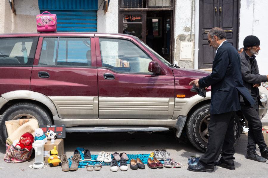 Souk Halfaouine à Tunis