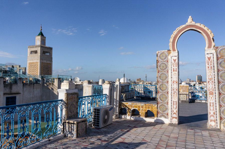 Vue depuis les toits de Tunis