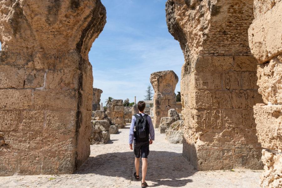 Voyage à Carthage, Thermes d'Antonin