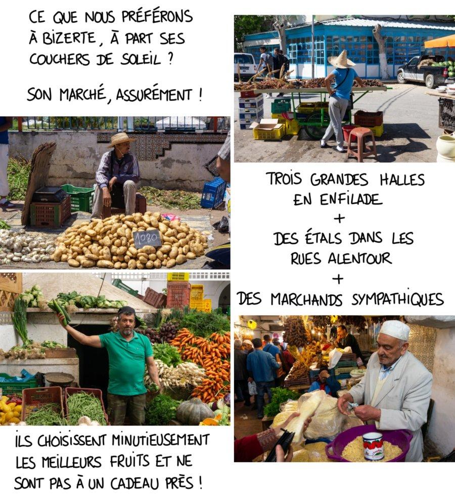 Le marché de Bizerte