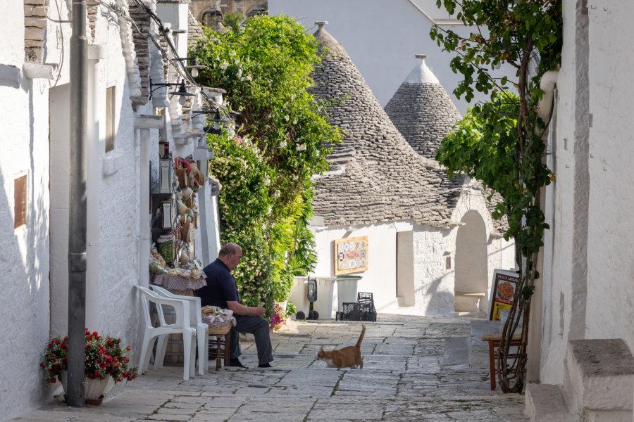 Alberobello, le village aux trulli en Italie