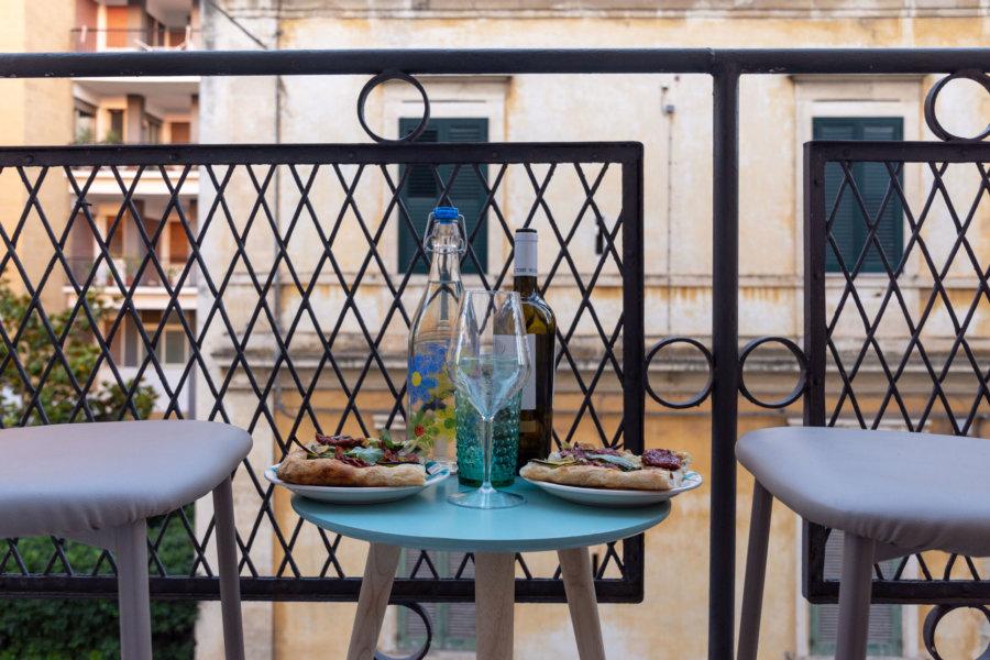 Notre petit balcon à Lecce