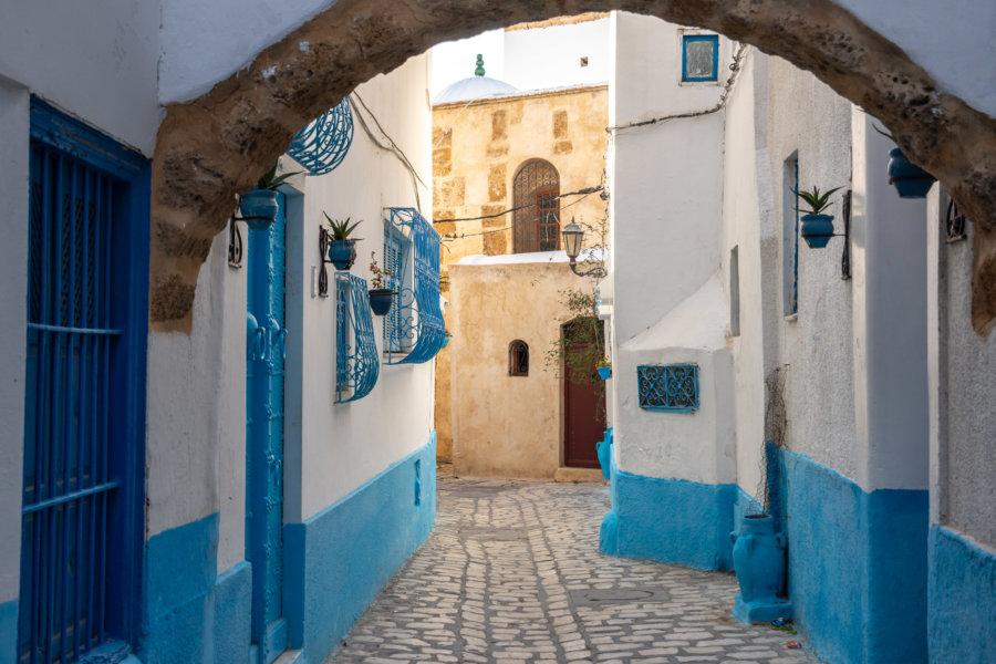 Kasbah de Bizerte en Tunisie