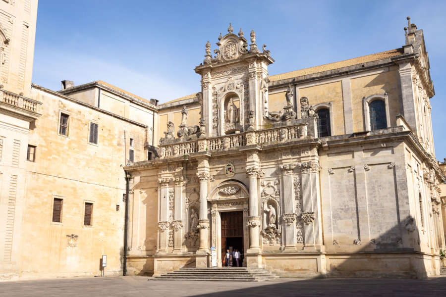 Cathédrale de Lecce dans les Pouilles