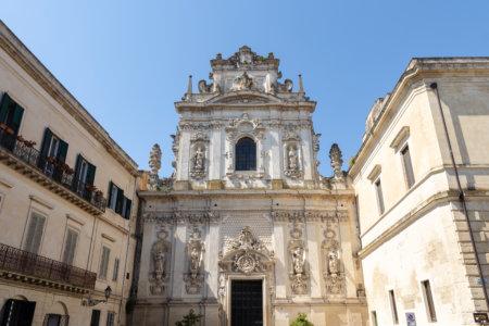 Chiesa del carmine à Lecce, Italie