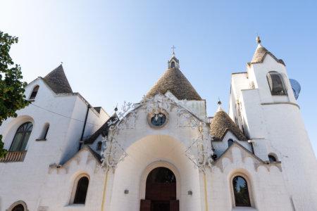 Église trullo à Alberobello, Pouilles