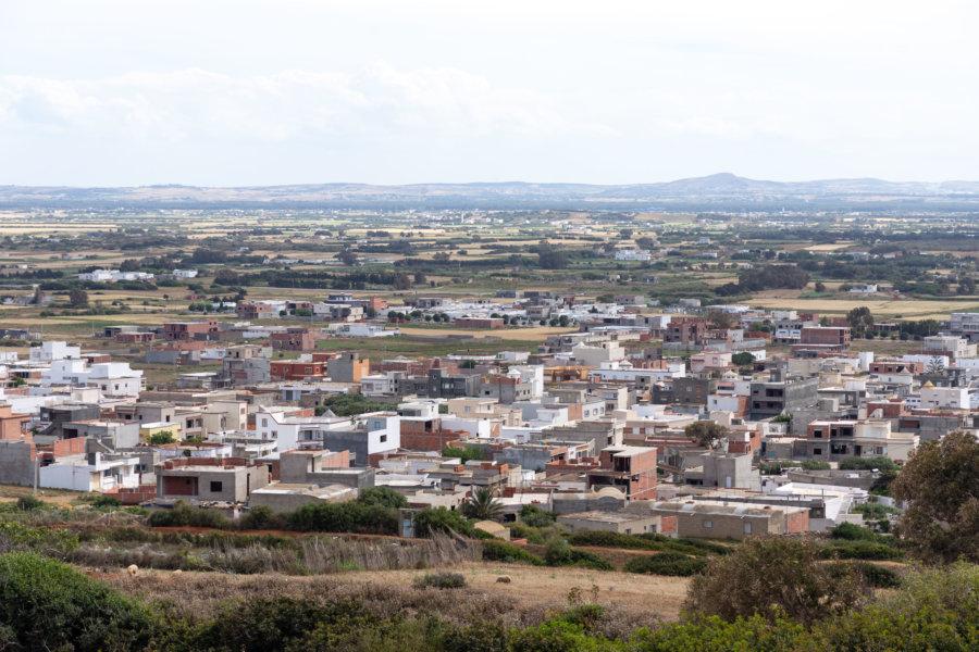 Ville d'El Haouaria en Tunisie