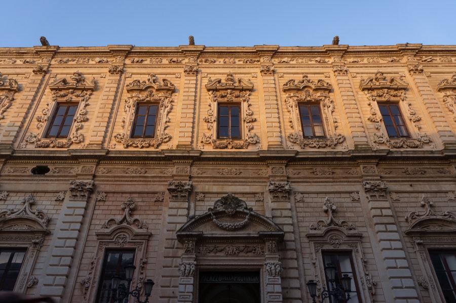 Couvent des Célestins à Lecce, Pouilles, Italie