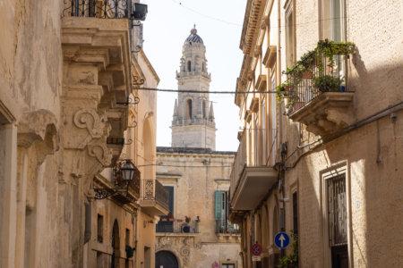 Ville de Lecce dans les Pouilles, Italie