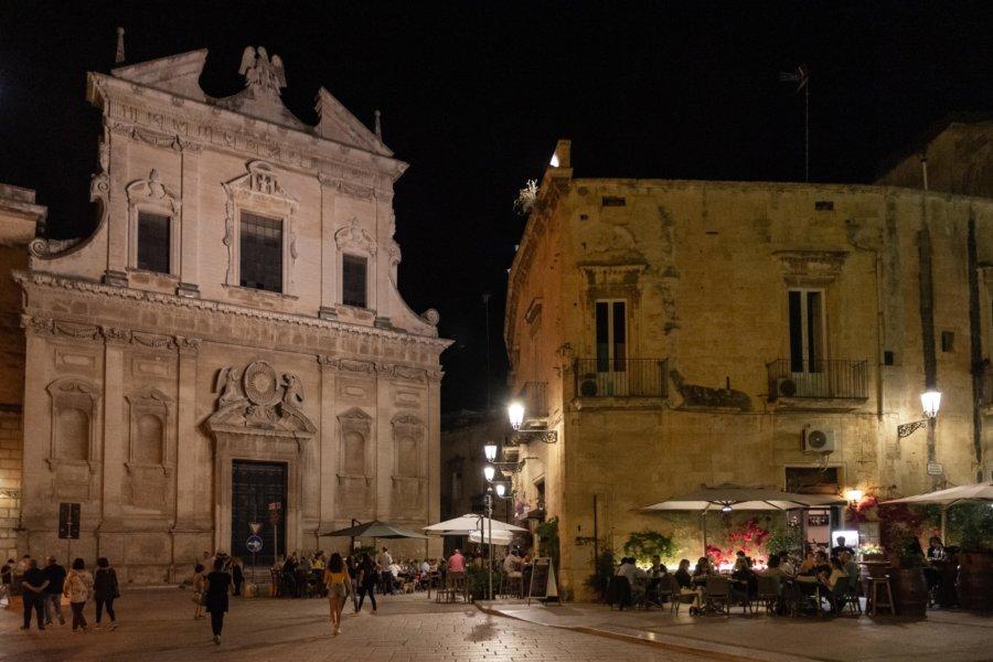 Nuit à Lecce, région desPouilles