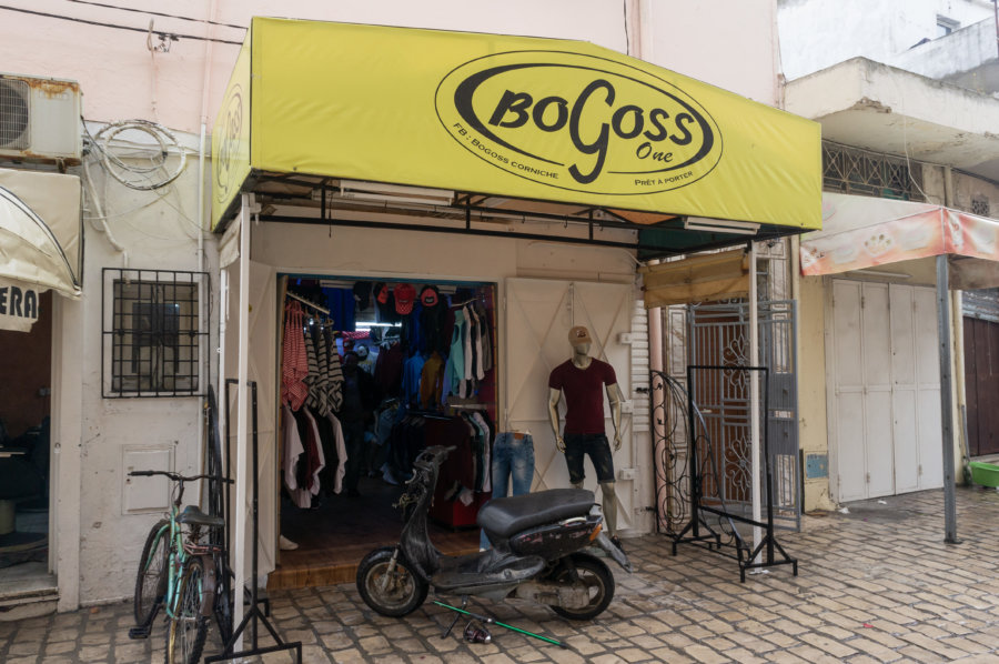 Magasin Bogoss à Bizerte