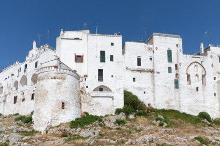 Remparts d'Ostuni, Pouilles, Italie