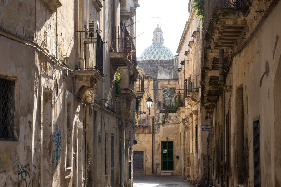 Rue de Lecce, ville des Pouilles