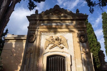 Tombeau au cimetière de Lecce