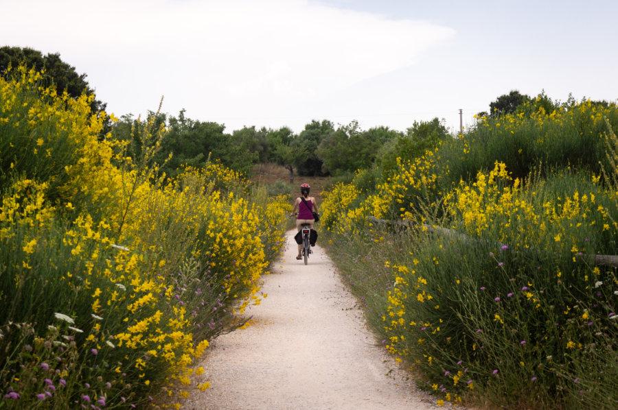 Voyage à vélo dans les Pouilles en Italie du sud