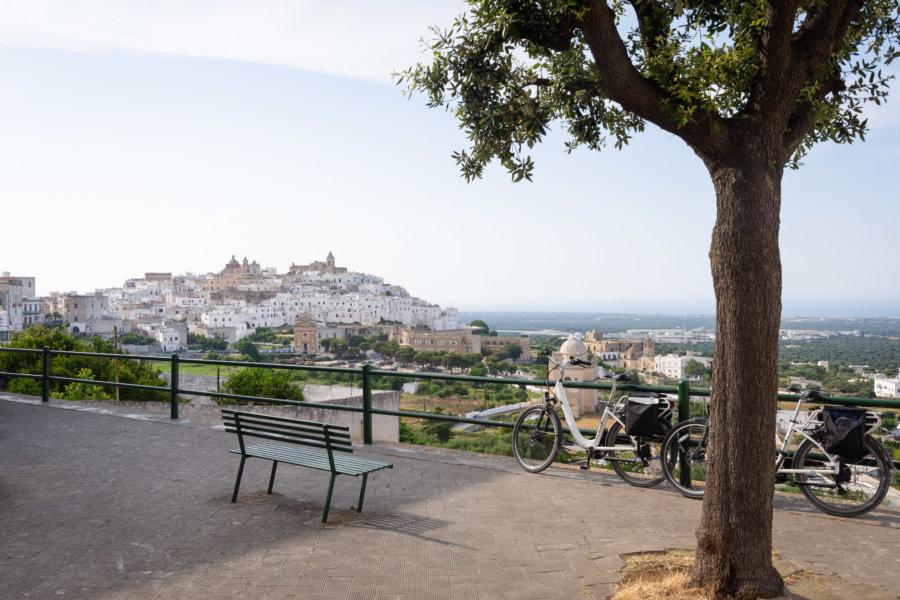 Voyage à vélo à Ostuni dans les Pouilles
