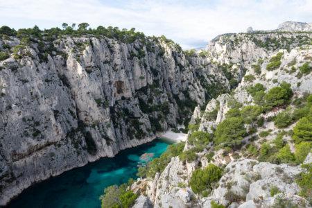 Calanque d'En-Vau à Marseille