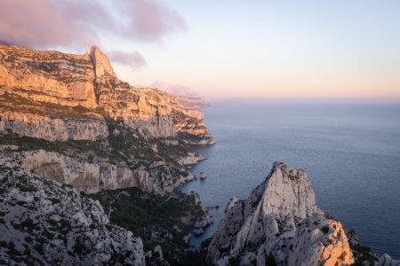 Calanque de Sugiton à Marseille