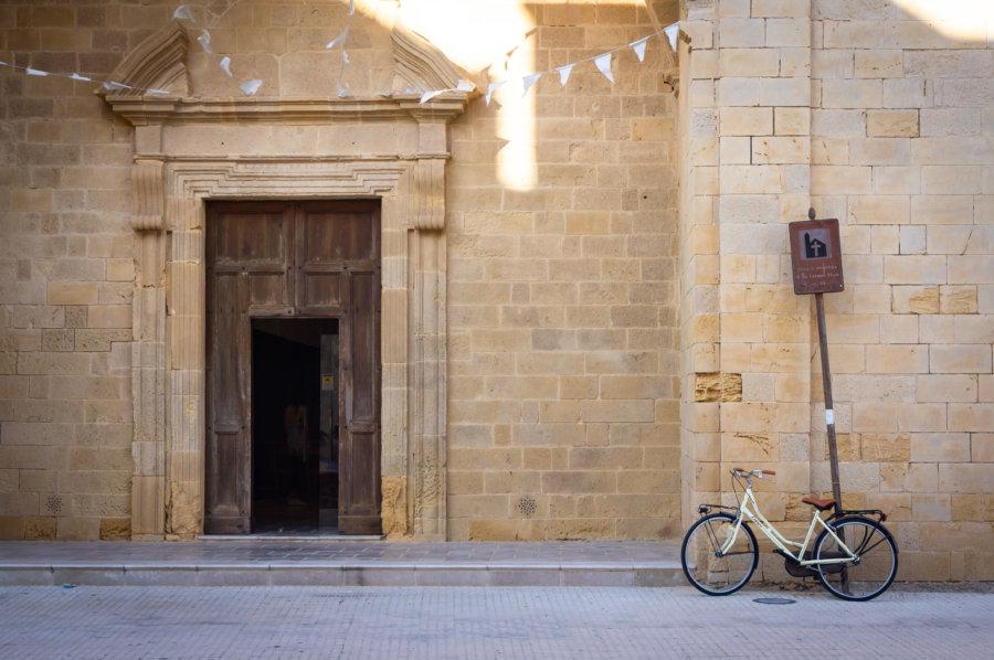Église à Gallipoli dans les Pouilles