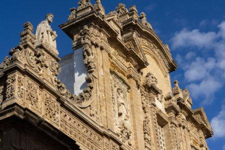 Cathédrale de Gallipoli, Pouilles, Italie