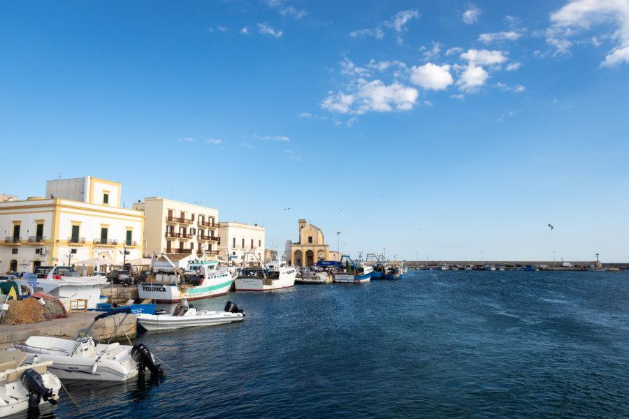 Ville de Gallipoli dans le Salento, Pouilles, Italie