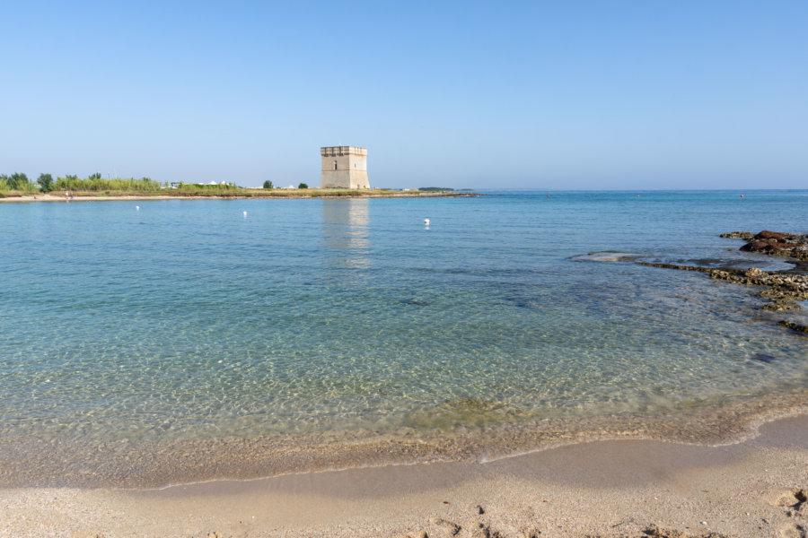 Torre chianca, plage du Salento, Pouilles