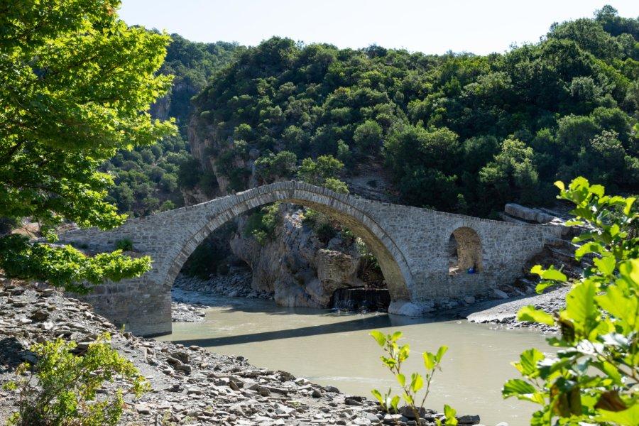 Pont ottoman de Benje en Albanie