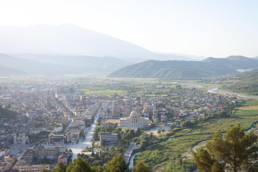 Vallée de Berat en Albanie