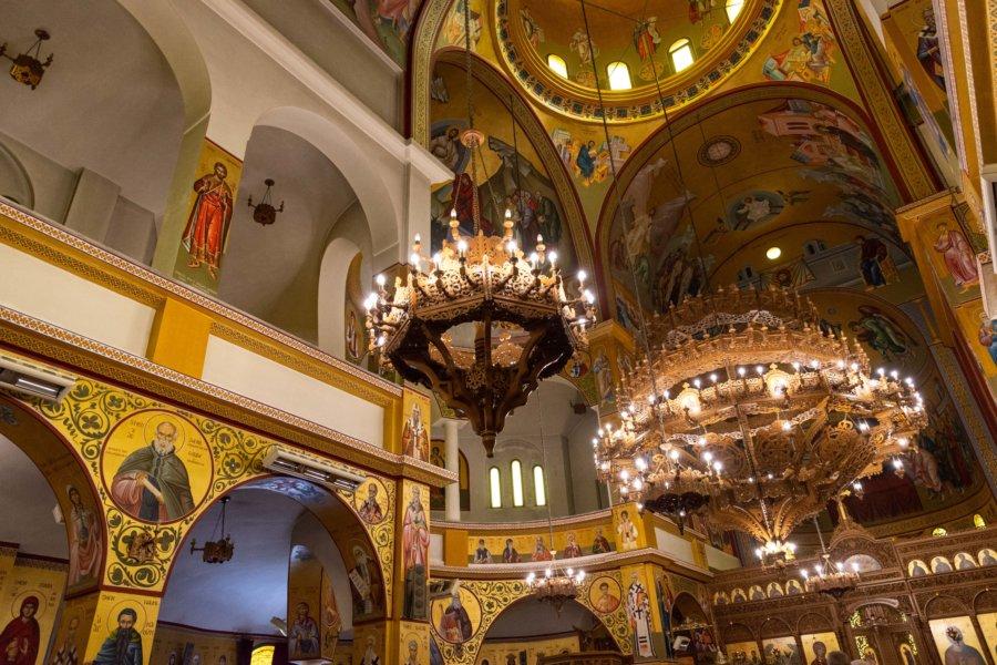 Intérieur de la cathédrale de Korçë