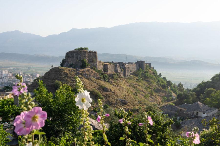 Château de Gjirokaster en Albanie