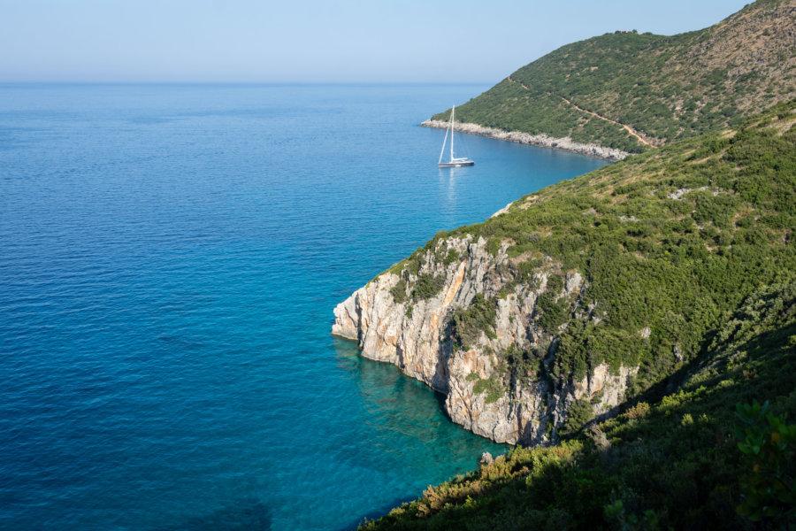Randonnée sur la côte albanaise