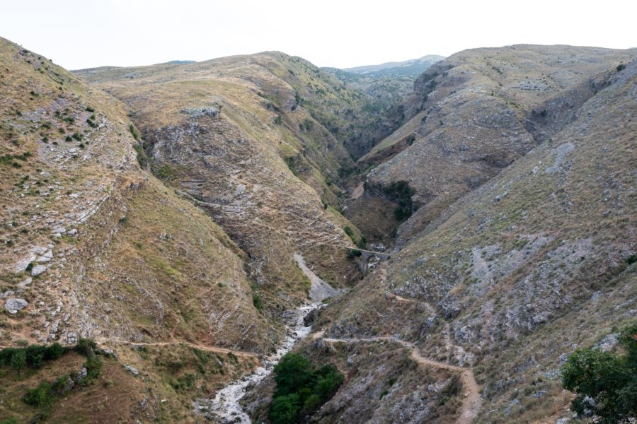 Aqueduc du Pacha Ali à Gjirokastër